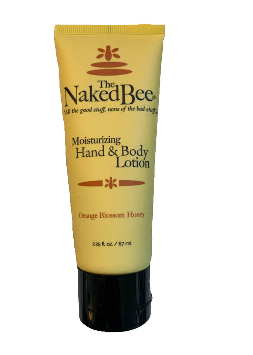 The NakedBee Lotion - Orange Blossom Honey