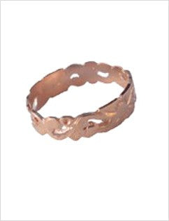 Victorian 14K Pink Gold Toe Ring