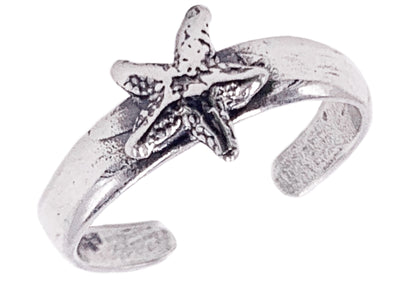 Starfish Sterling Adj Toe Ring