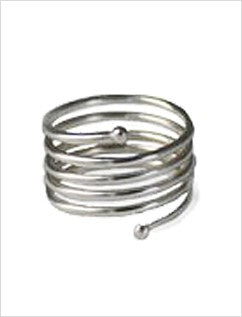 Yoga Spiral Sterling Toe Ring