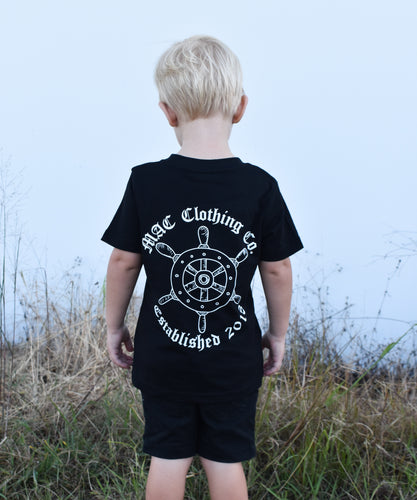 Kids Ship Wheel Tee