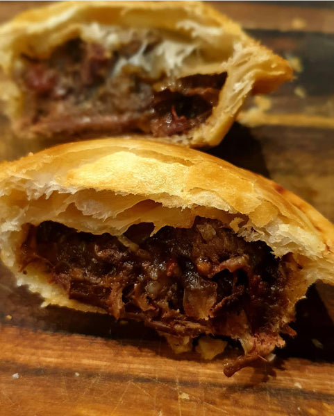 Easy Jerk Beef Pies