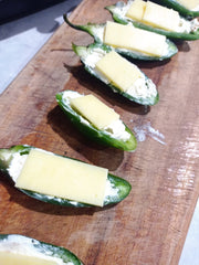 Poppers with cheese