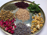 Herbal Leaves ( Chamomile. Rose Bud, Hibiscus,Osmanthus, Spread Mint, Pepper Mint)
