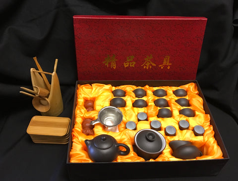 Yixing tea set Large set