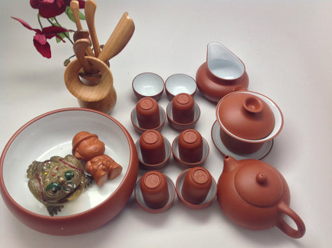 Yixing #690 Tea Set 25 pcs$99
