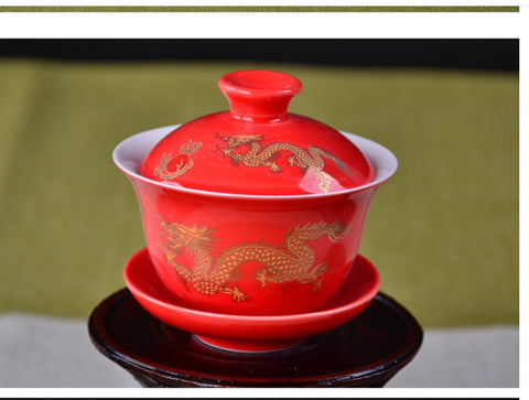 Gaiwan Red Dragon #19