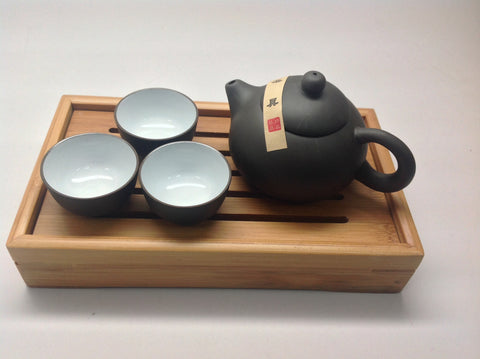 Mini Yixing Tea Set with Tray #323