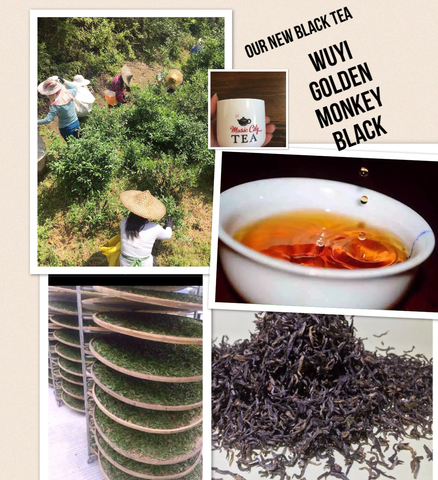 Black-Wuyi Golden Monkey Black Tea