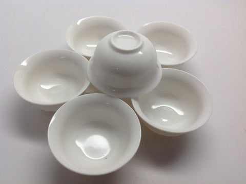 Chinese Tea Tasting Cups-set of 6