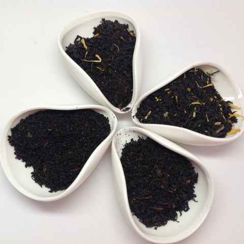 Black Tea Flavor (4 Black Tea with Peach, Mango, Lemon  Cinnamom Flavor)