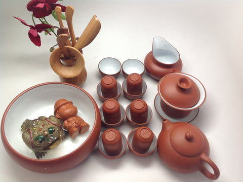 Yixing Tea Set( Fancy Set) #420