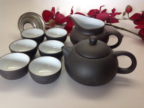 Yixing Tea Set Zhisha 9pcs #201 Was $48.95 Now $39.95