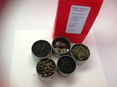 Tea sampler( China Green Tea sampler)