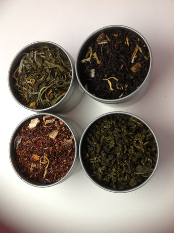Tea Samper( Flavor Blend Tea Sampler)