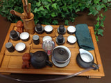 Yixing tea set with large Size Bamboo Tea Tray 29pcs