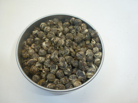 Jasmine Dragon Pearls(sweet aromatic green tea)