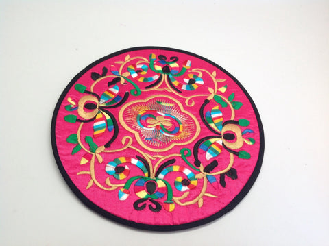 Silk Tea Pot Coaster
