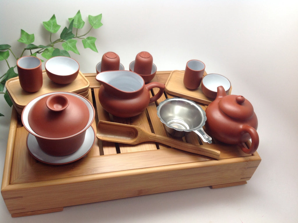 Yxing Tea Set 26 pcs Large set for sale #64 New