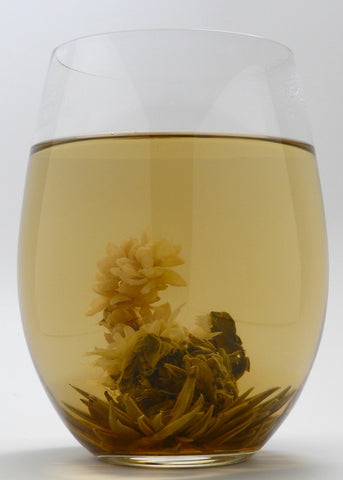 Sea Shell Green Blooming Tea