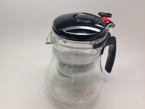 "POT-Lazy Easy Piao I Tea Pot ""Push Button"" Multi-Tea Server $48 Family Size #128"
