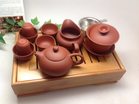 Yixing Clay Red Clay Tea Set -On Sale