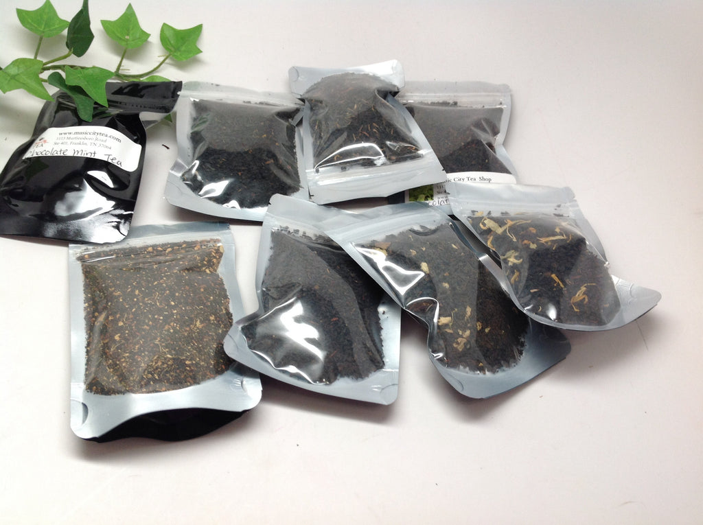 Black Flavored Tea Sampler- #3 Tea $ 2.99 per Sampler