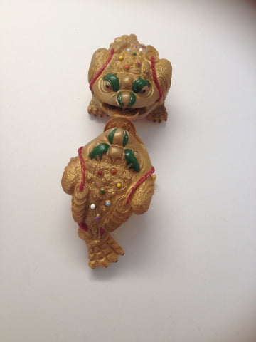 Tea Pet  Golden Frog( Pixiu) $15.95