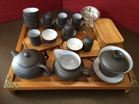 Attirant Yixing Clay Tea Set #901 All You Need For Chinese Tea Ceremony