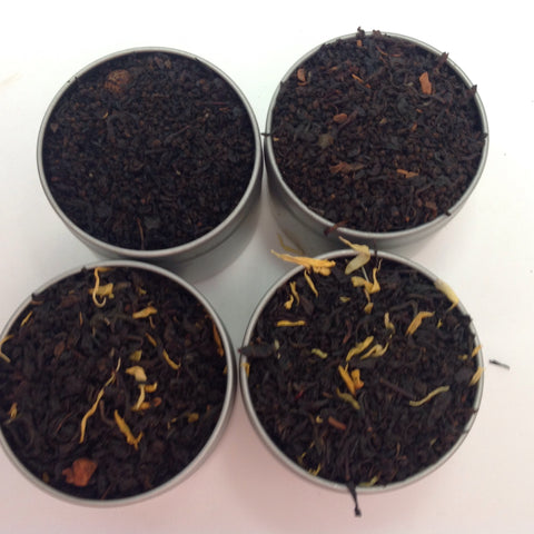 Black Tea Flavor (4 Black Tea with Peach, Orange  Cinnamom Flavor)