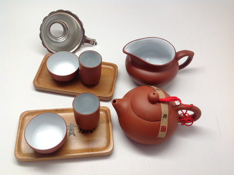 Yixing Tea Set 9 pcs