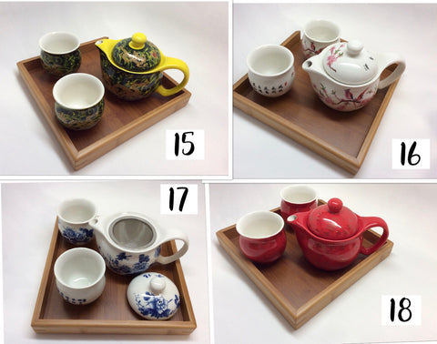 Double Walled Cups Tea Set-Small Set-B