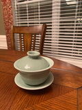 2 Green Gaiwan for sale