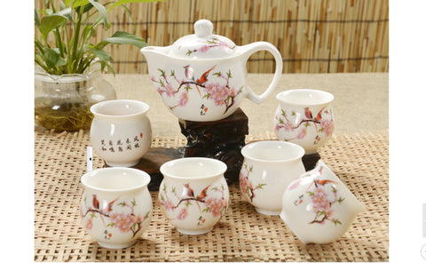 Doubble Wall Cups Tea Set