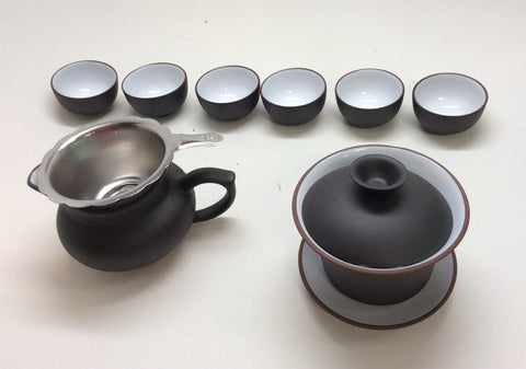 Gaiwan tea set BW 12