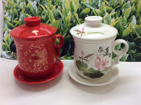 Office 4 pcs best seller Personal Tea Cup 12oz -P23