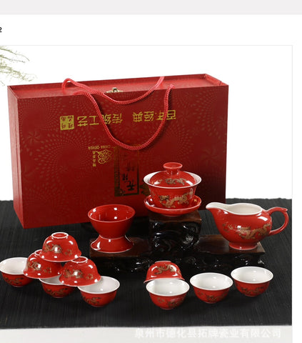 Gaiwan tea set ( dragon Tea Set) #36
