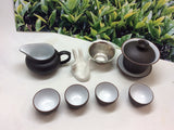 Gaiwan Tea Set Clay 8 pcs with Gift Box