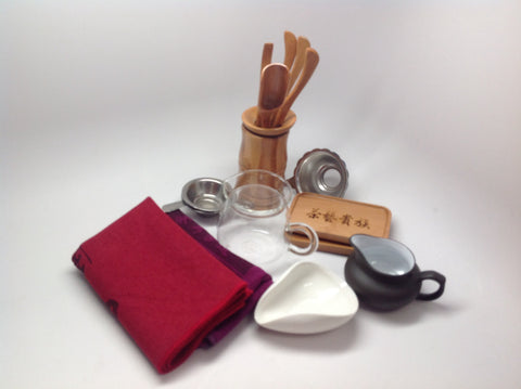 Tea Tools ( Accessories)  whole set 茶道组合 #10