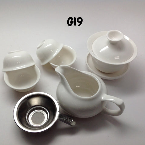 7 Piece Gaiwan Tea Set #G19