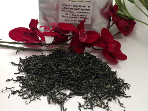 Green - Cloud  Mist -Organic Green Tea G12