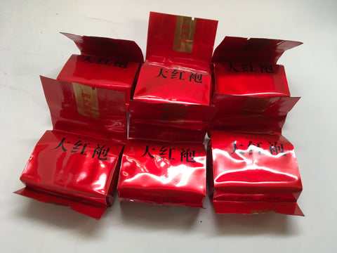 Oolong Tea #2- 6of set Small Package 9 gram bag Big Red Robe