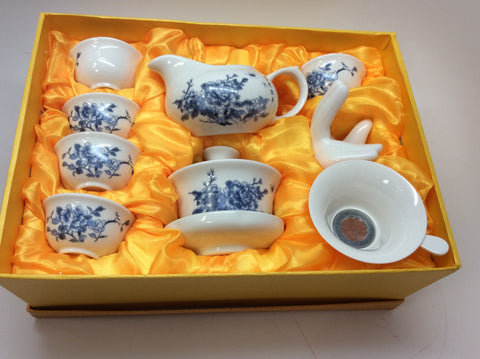 A -Gaiwan set on sale Blue Peony monthly Special