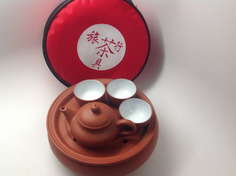 Yixing Clay Travel Mini Tea Set