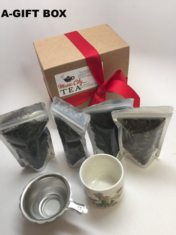 Christmas Black Flovered Tea Sampler Gift Top Sale-2016 GF 3