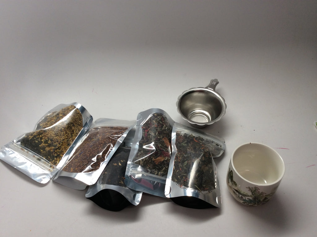 Monthly Special -$20 tea sampler half price deal Limited offer.