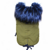 Luxury Fur Parka Dog coat for Small Pet-Dog Options