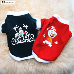 Merry Christmas Dog Clothes-Dog Options