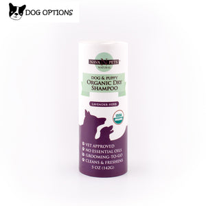 Organic Dry Dog & Puppy Shampoo, Lavender Herb-Dog Options
