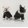 Biker Bully Leather Dog Jacket